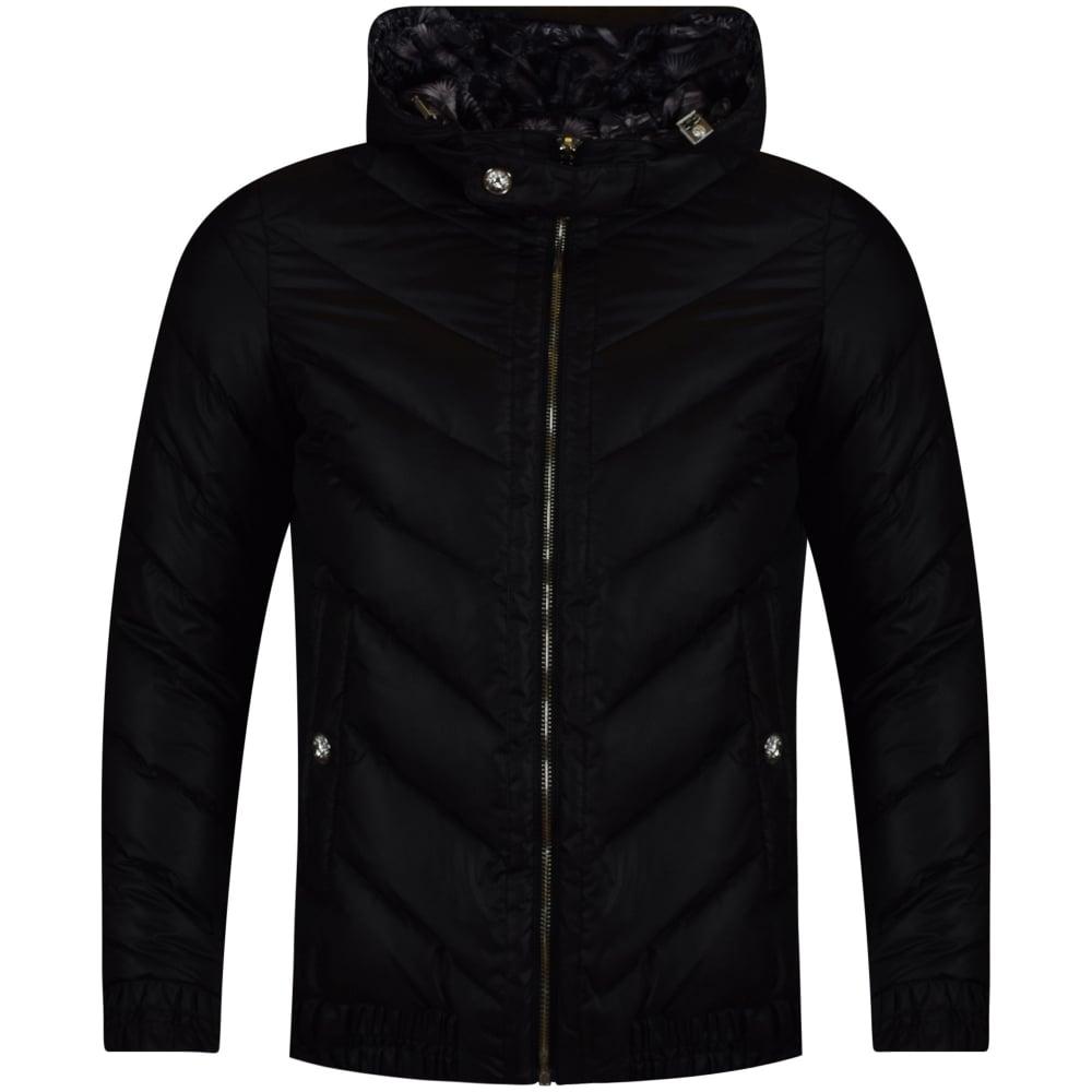 c34b676c44 VERSUS VERSACE Versus Versace Black Reversible Puffer Jacket ...