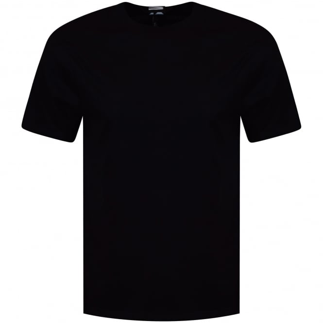 VERSUS VERSACE Black Tab Text T-Shirt