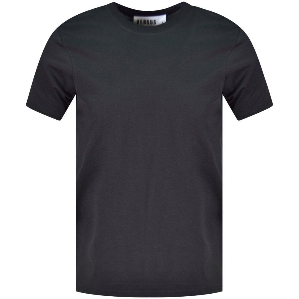 e3dce2de7 VERSUS VERSACE Black Triple Vintage Logo T-Shirt - T-Shirts from ...
