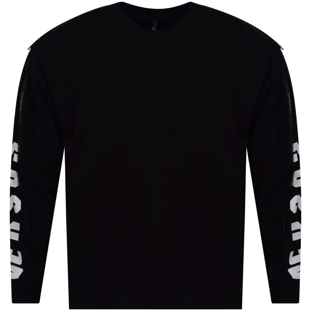 b8553cf7e74 VERSUS VERSACE Versus Versace Logo Print Zip Detail Sweatshirt - Men ...