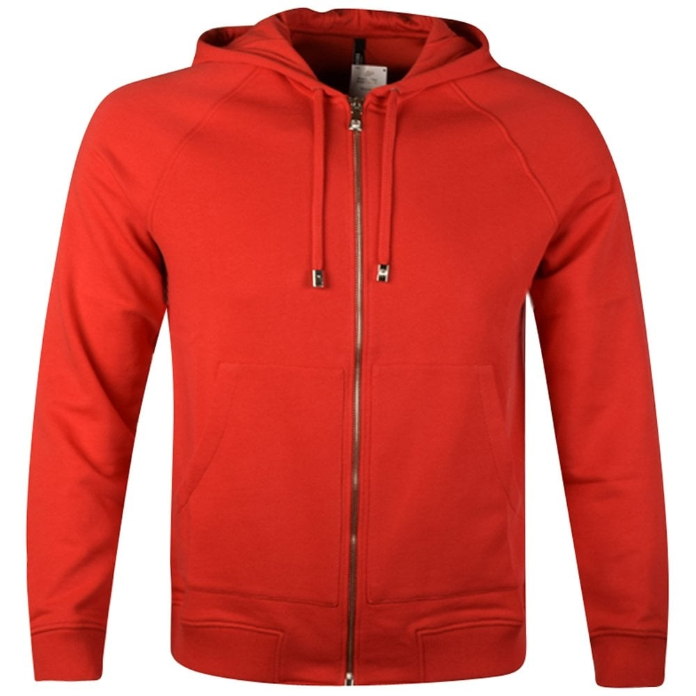 d263921b9 VERSUS VERSACE Versus Versace Red Lion Zip Through Hoodie ...