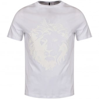 Versus Versace White Large Lion Logo T-Shirt