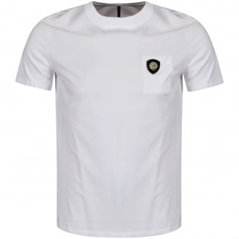 Versus Versace White Lion Pocket T-Shirt
