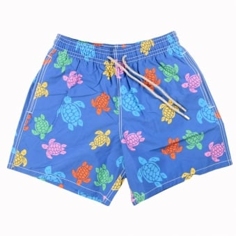 Vilebrequin Blue Multi Turtle Swimshorts