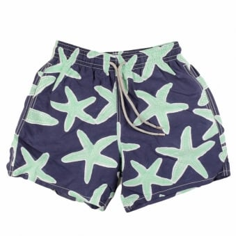 Vilebrequin Navy Starfish Swimshort