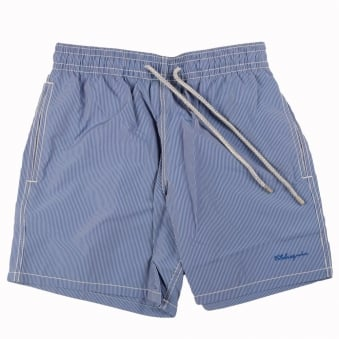Vilbrequin Blue Pin Stripe Swimshort