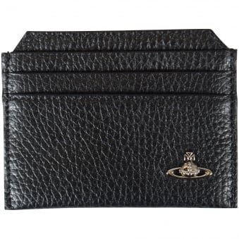 Vivienne Westwood Accessories Black Credit Card Holder