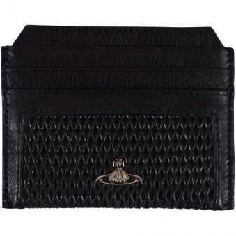 Vivienne Westwood Accessories Black Diamond Panel Cardholder
