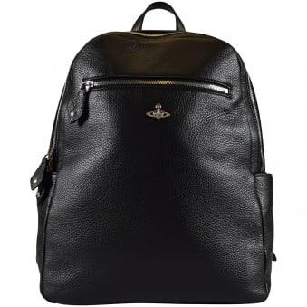 Vivienne Westwood Accessories Black Milano Backpack