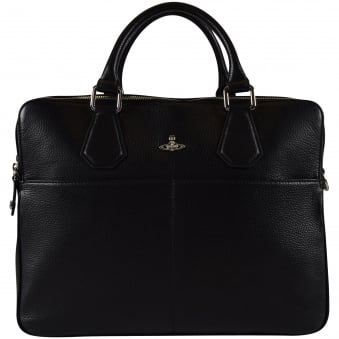 Vivienne Westwood Accessories Black Milano Computer Bag