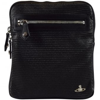 Vivienne Westwood Accessories Black Wimbledon Cross Body Bag