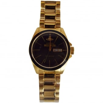 Vivienne Westwood Accessories Gold/Black Signature Watch