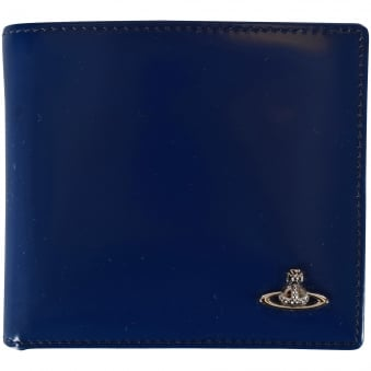 Vivienne Westwood Blue/Bordeaux Coloured Wallet