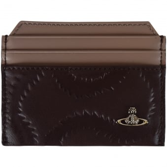 Vivienne Westwood Brown Detailed Card Holder
