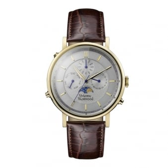 Vivienne Westwood Brown Portland Leather Watch