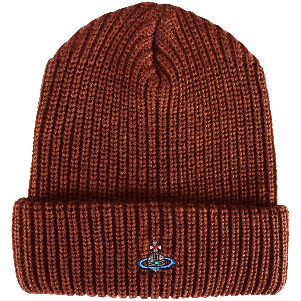 VIVIENNE WESTWOOD - NOT ACTIVE Vivienne Westwood Chunky Wool Beanie ... 70a069d1884