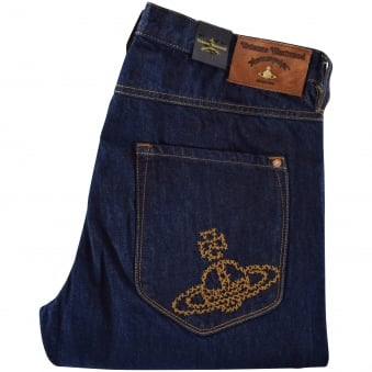 Vivienne Westwood Anglomania Blue Johnstone Jeans