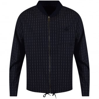 Vivienne Westwood Anglomania Navy Stripe Shirt Jacket