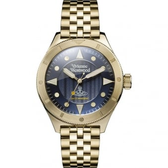 Vivienne Westwood Gold Stainless Steel Watch