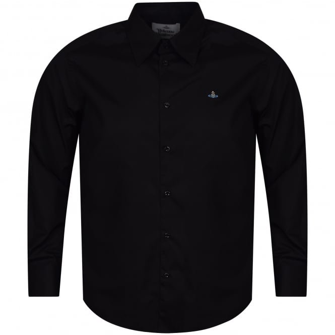 VIVIENNE WESTWOOD MAN Black Button Down Shirt