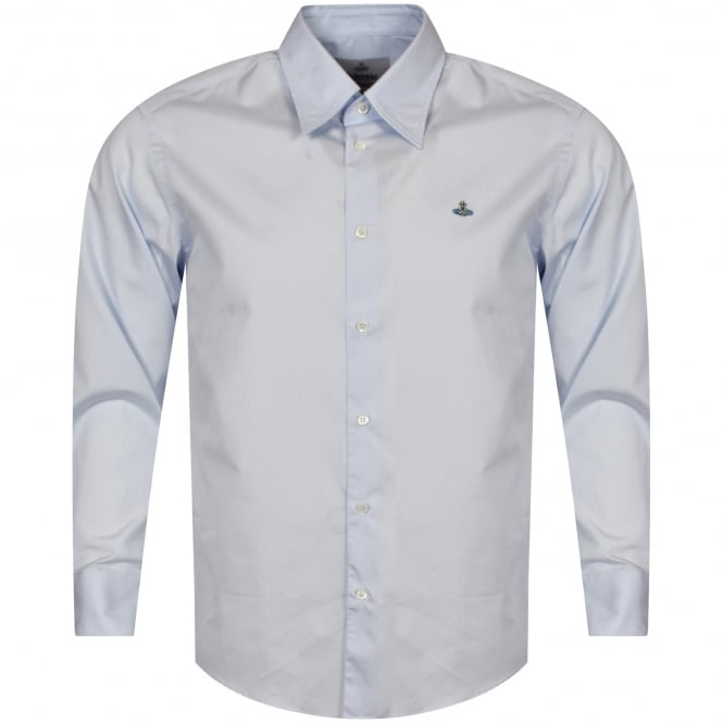 VIVIENNE WESTWOOD MAN Sky Blue Long Sleeved Shirt
