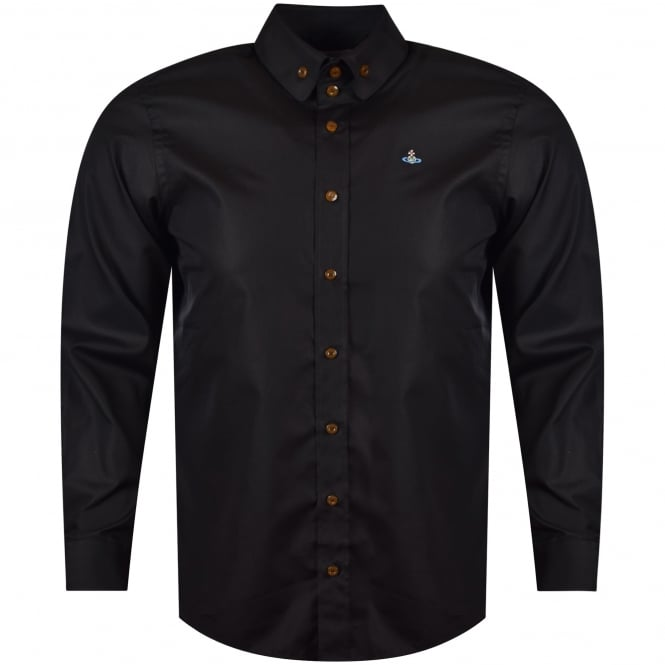 VIVIENNE WESTWOOD MAN Vivienne Westwood Black Long Sleeved Shirt