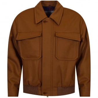 Vivienne Westwood Tan Zip Up Jacket
