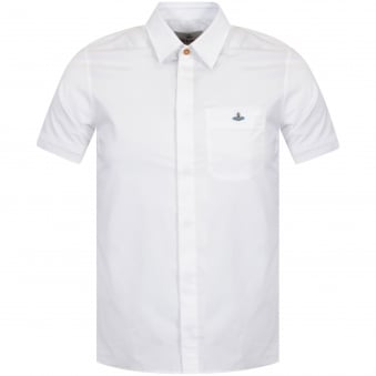 Vivienne Westwood White Short Sleeve Shirt