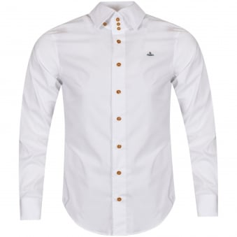 Vivienne Westwood Man White Long Sleeved Shirt