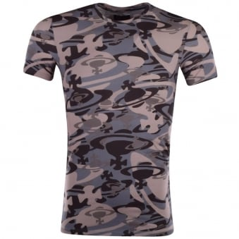 Vivienne Westwood Pink Camo Orb T-Shirt