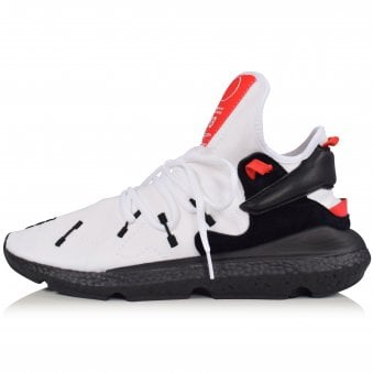 check out 70863 62412 White Black Red Kusari II Trainers · ADIDAS Y-3 ...