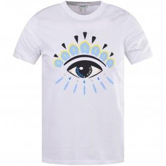48b6f13c White Eye Print T-Shirt