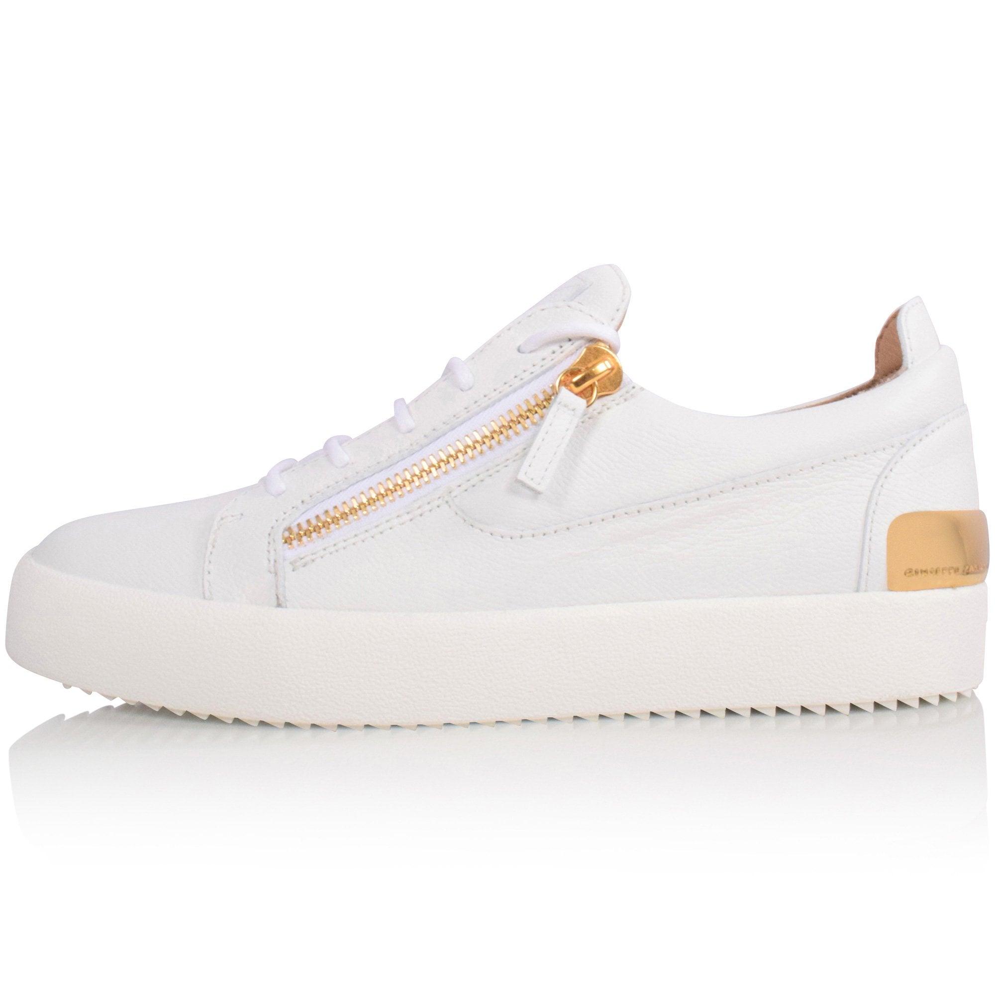 GIUSEPPE ZANOTTI White/Gold Frankie
