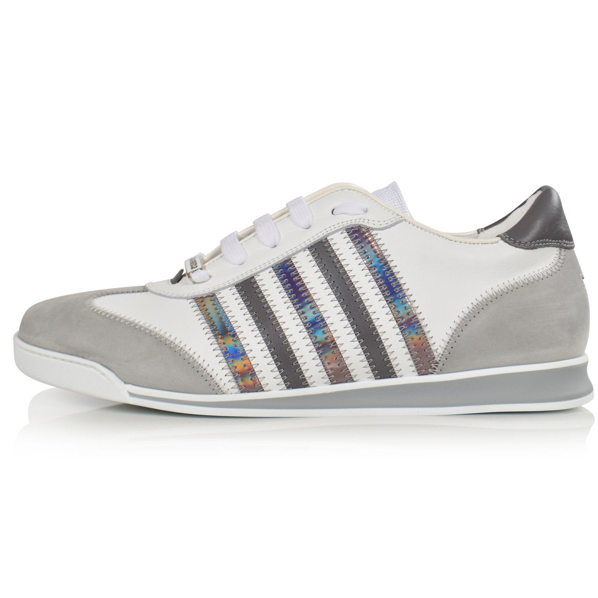 DSQUARED2 White/Grey New Runner