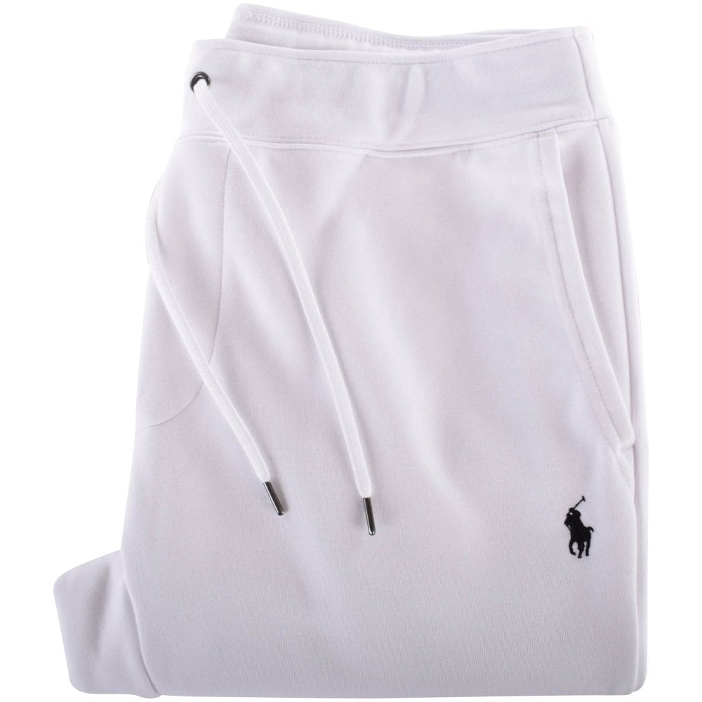 6b345c44d POLO RALPH LAUREN White Logo Track Pants - Department from ...