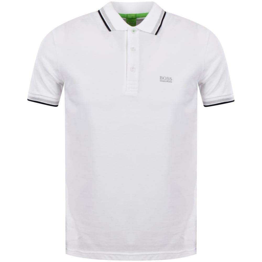 8fd21d8ce664 BOSS ATHLEISURE White Short Sleeve Polo Shirt - Men from ...