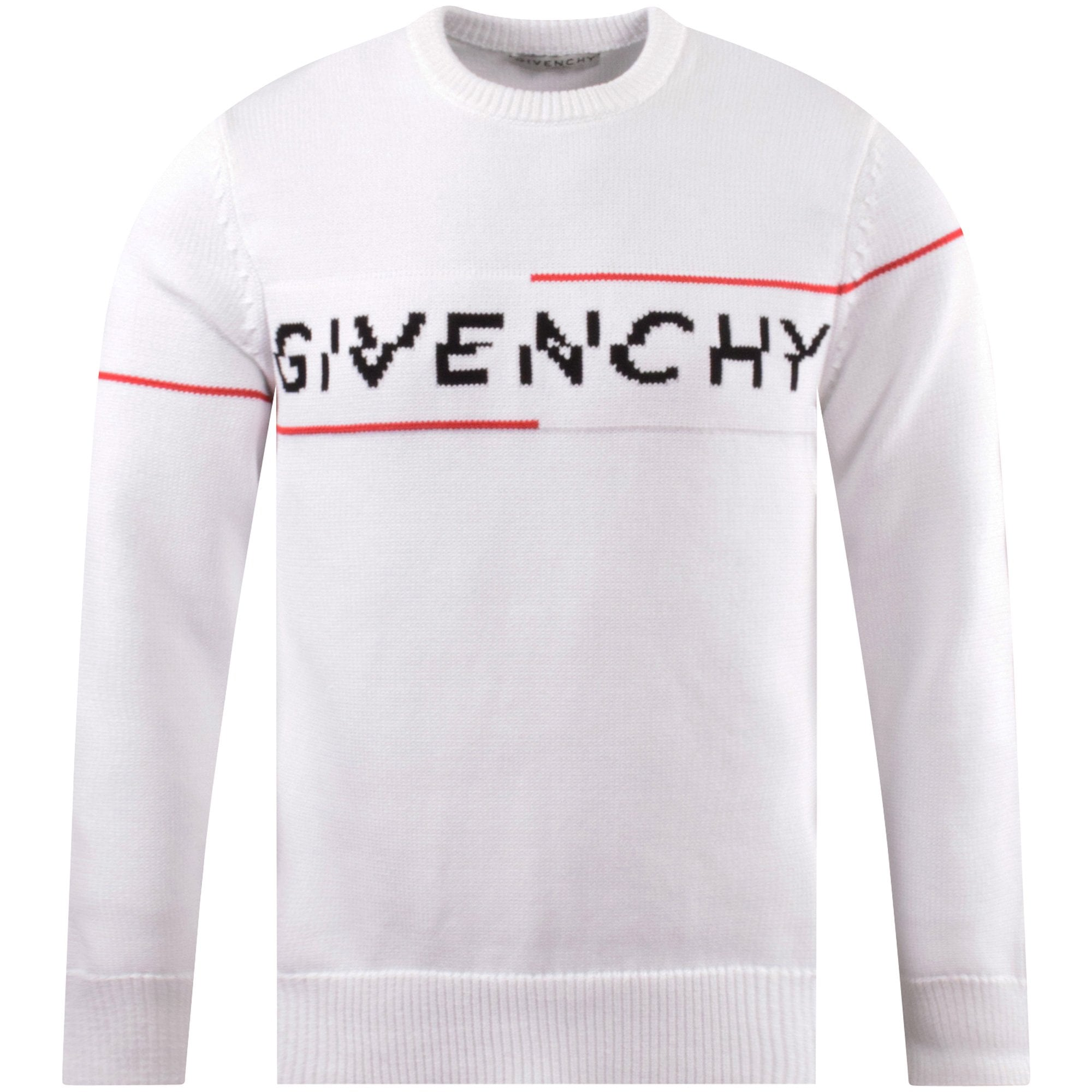 givenchy white sweater