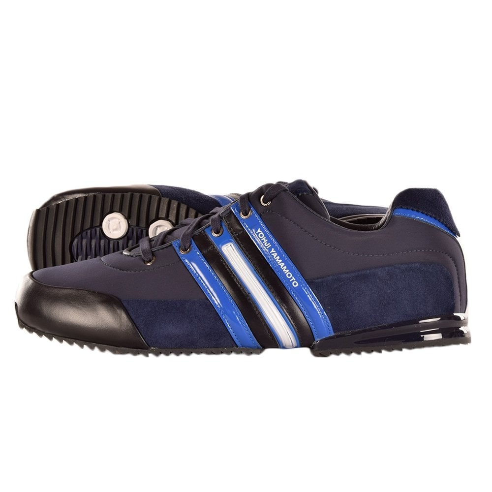 b623c07b7f6 ADIDAS Y-3 Y-3 Navy Blue Sprint Trainer   M25716 - Men from Brother2Brother  UK