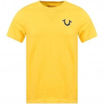 cf43e42d Yellow Buddha Logo T-Shirt · TRUE RELIGION ...