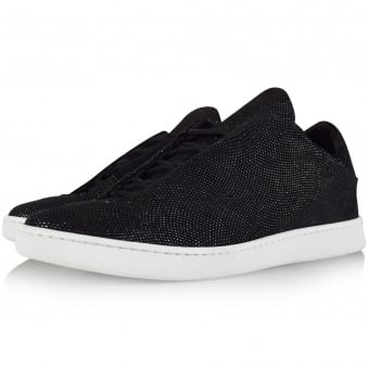 Ylati Footwear Black Virgilio Low Trainers