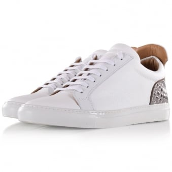 Ylati Footwear White Amalfi Low