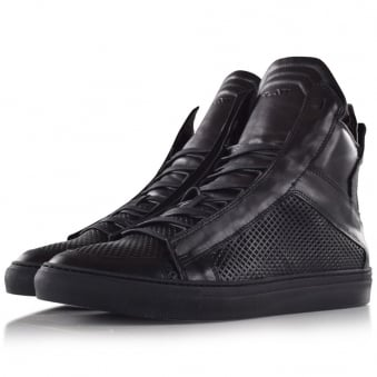 Ylati footwear Zeus Black Oversized High Top